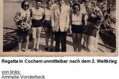 Frauen Jungmann Gig-Doppel-Vierer mit Namen